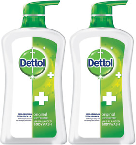 Dettol Anti Bacterial Ph-Balanced Body Wash, Original, 21.1 Oz/625 Ml Pack Of 2