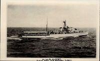 Schiffsfoto-AK Ship Real Photo ~1950/60 Marine HMS ALERT Hochsee Schiff Bateaux