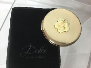 Dolce Compact Mirror by Dolce & Gabana Flower