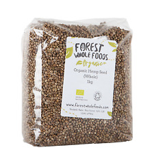 Organic Whole Hemp Seed 10kg - Forest Whole Foods