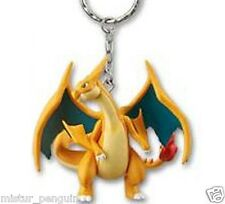 Pokemon XY Real Figure MEGA CHARIZARD Y Keychain Keyholder Ring Banpresto UFO