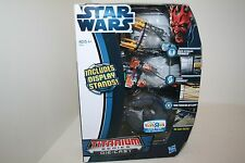 Star Wars Titanium Toys R Us TRU PODRACER Anakin Sebulba Trade Battleship NEW