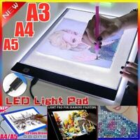 LED Tracing Light Box Drawing Board Art Pad Diamond Painting Table Copy Station