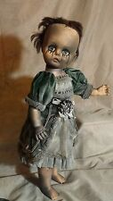 "Lg 19"" undead Haunted house doll halloween child prop creepy horror prop gothic"