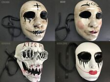THE PURGE MOVIE ANARCHY HORROR mask Killer Halloween GOD Cross Mask Costume