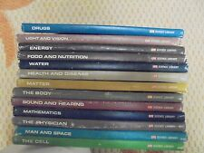 (LOT of 13) Vintage 1960's  Life Science Library: Assorted Titles