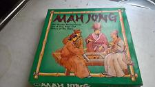 1960's/70's michael stanford wooden mah jong set