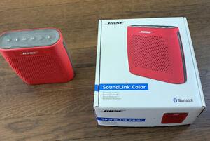Bose SoundLink Color Bluetooth Speaker - Red- Very Good (Adult owned)