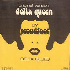 """PROUDFOOT – Delta Queen / Delta Blues (1972 FUNK/SOUL VINYL SINGLE 7"""" HOLLAND)"""