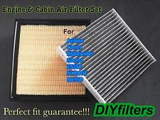 Engine & CARBONIZED Cabin Air Filter For SIENNA CAMRY AVALON ES350 NX200T RX350