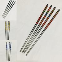 4 * Metal Chinese/Japanese Style Hair Chop Sticks Hair Pin Clip Chopstick Tools