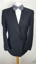 Pierre Cardin Mens Dinner Suit Jacket, Black, Pure New Wool, Size 40R, VGC