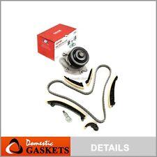 Timing Chain Kit Water Pump 8 Groove Fits 07-12 Mercedes-Benz Turbo Diesel 3.0L