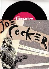 """JOE COCKER What Are You Doing With A Fool Like Me? PICTURE SLEEVE 7"""" 45 record"""