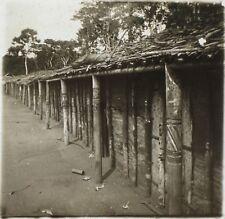 Afrique Potérie Gandjicolo Congo Photo NE1 Plaque Stereo Vintage ca 1910