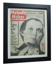 MAGAZINE+DEVOTO+ORIG 1978 VINTAGE MELODY MAKER+QUALITY FRAMED+FAST GLOBAL SHIP