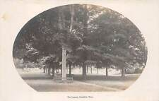 BRIMFIELD, MA ~ THE COMMON, REAL PHOTO PC ~ c. 1910-20