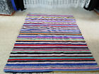 Vintage Handmade Moroccan Berber Azilal Rug Beni Ourain Tribal Carpet