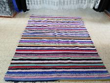 Vintage Moroccan Rug Handmade Berber Azilal carpet Beni ourain Kilim Rug