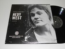 HEDY WEST VG++ Old Times and Hard Times w/Booklet FSA-32 Folk-Legacy Topic album