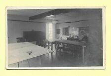 Sport Table Tennis Table Real Photographic Postcard