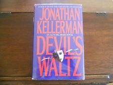 DEVIL'S WALTZ #7 by Jonathan Kellerman, SIGNED 1st ed/1st printing (1993, HCDJ)