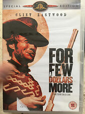 Clint Eastwood FOR A FEW DOLLARS MORE ~ Leone Western 2-Disc Spec Ed UK DVD