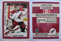 2015 SCA Alex Auld Phoenix Coyotes goalie never issued produced #d/10 rare