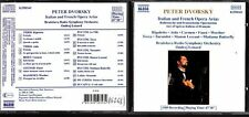 CD 1342  PETER  DVORSKY  ITALIAN AND FRENCH OPERA ARIAS
