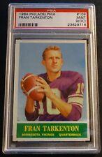 1964 PHILADELPHIA FRAN TARKENTON HOF #109 PSA 9 O/C