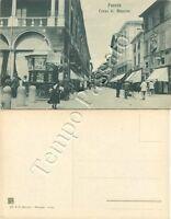 Cartolina di Faenza, edicola in corso Mazzini - Ravenna