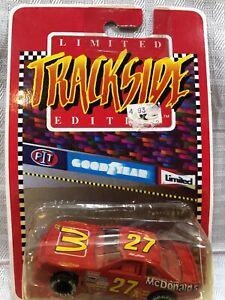 NASCAR Hut Stricklin #27 McDonald's Trackside Limited Edition  Die Cast NOS