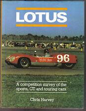 Lotus la competencia de la encuesta de Deportes, gt & Coches De Carrera Colin Chapman Jim Clark +