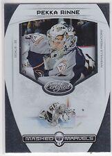 Pekka Rinne , 2011-12 , Certified , Masked Marvels , #7