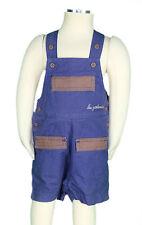 JACADI Boy's Trepestio Midnight Blue and Mocha Overalls Age: 23 Months NWT $42