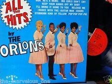 "THE ORLONS~""ALL THE HITS~""EXCELLENT""~U.S. ORIGINAL 1960 CAMEO C-1033  LP!!!"