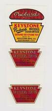 Keystone Packard Delivery Truck Decal Set