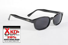 X - KD's 20% bigger biker sunglasses Dark Grey 1120 new
