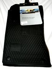 2003 TO 2006 Mercedes E55 AMG Rubber Floor Mats - REAL FACTORY OEM ITEMS - BLACK