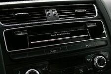 Audi A4 A5 S4 RS4 S5 RS5 Alu Zierrahmen Multimedia Quattro S-line 8K B8 8T 8F