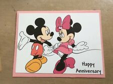 Anniversary Card Classic Love Minnie & Mickey Mouse Still Going Strong Handmade