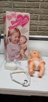 vintage 1977 Baby Heartbeat doll by Kenner complete with accessories