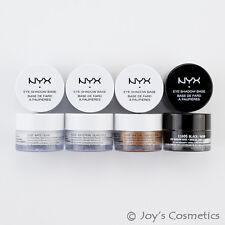 """4 NYX Fard à paupières impression Base de fond """" blanc,perle blanche,peau"""