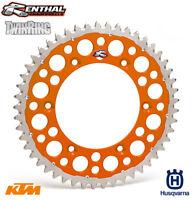 Renthal TwinRing Sprocket KTM SX SXF EXC EXC-F Husqvarna TC FE TE FC 50T Orange