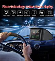 GPS HUD For All Voiture Compteur de Vitesse Affichage tête haute Prévenir Speed