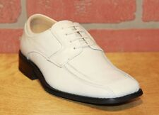 La Milano Boy/'s Tan Leather Oxford Dress Shoes Style# AT6105
