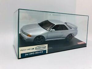 Kyosho MINI-Z Body NISSAN SKYLINE GT-R R32 Jet Silver Metallic MZG404JS Rare