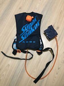 Nerf Super Soaker Ammo Hydro Pack Water Blaster Vest Hasbro
