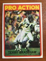Terry Bradshaw 1972 #120 Topps Football Card Pro Action