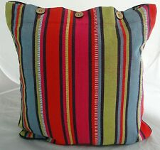 BRIGHT COLOURFUL MEXICAN LOOKING CUSHION COVER 40 X 40 'MONTANA' SCATTER THROW